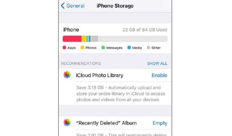 Hướng dẫn giải phóng dung lượng bị Messages chiếm dụng trên iOS