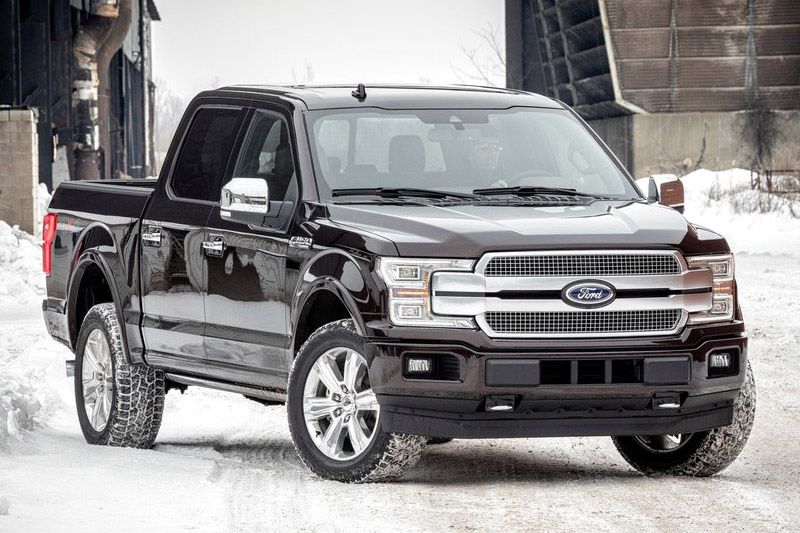 7. Ford F-150 2018.