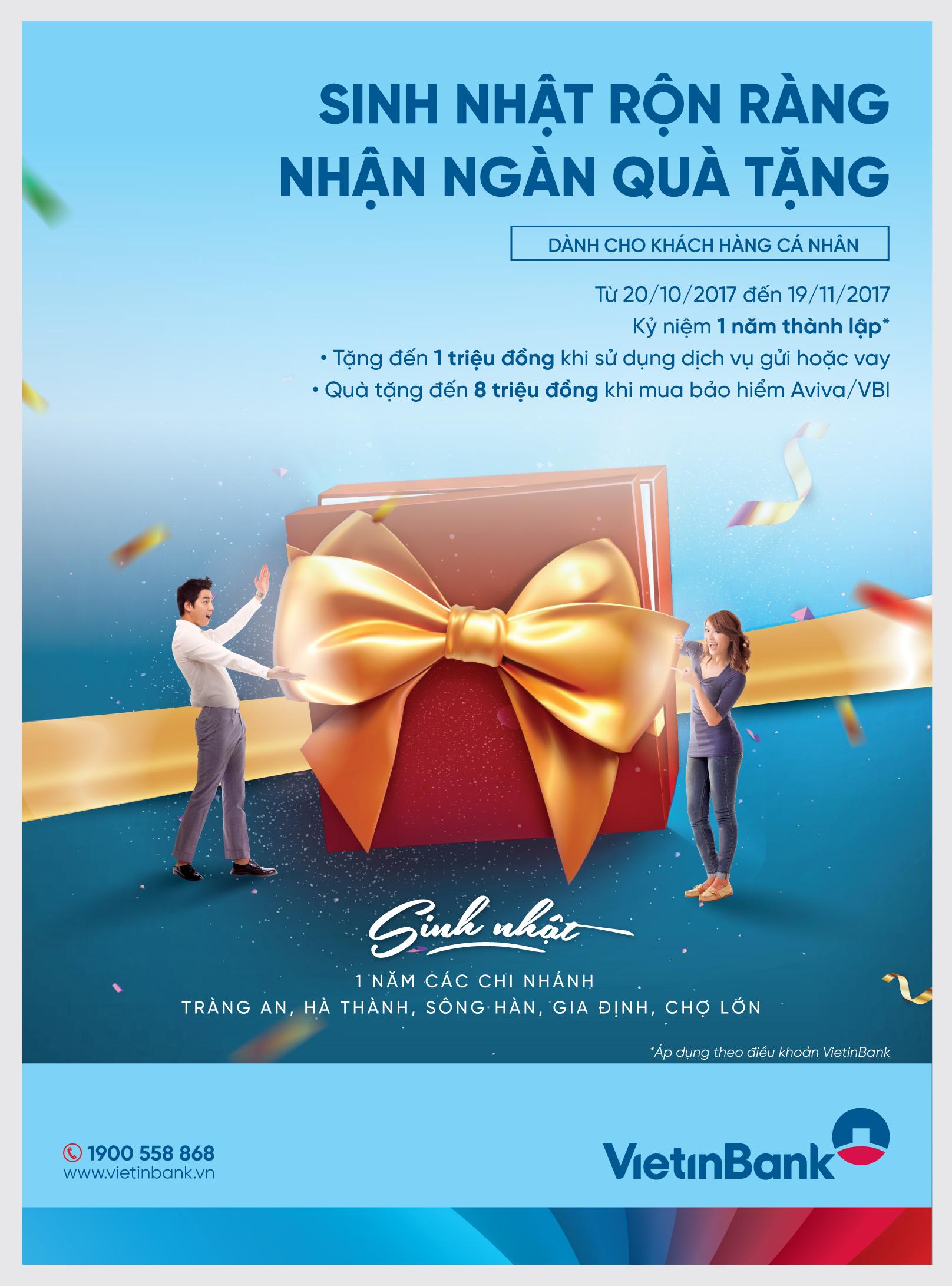 Chuyến du lịch Singapore đang chờ đón khách hàng VietinBank.