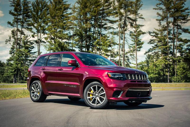 3. Jeep Grand Cherokee 2018.