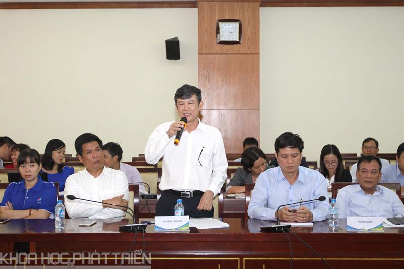 Các đại biểu chia sẻ tại Hội thảo