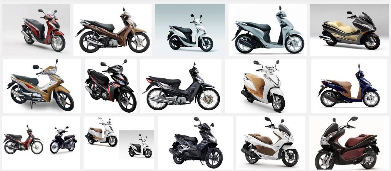 Chiếm thị phần lớn nhất trong lĩnh vực xe máy vẫn là Honda Việt Nam. Ảnh minh họa.