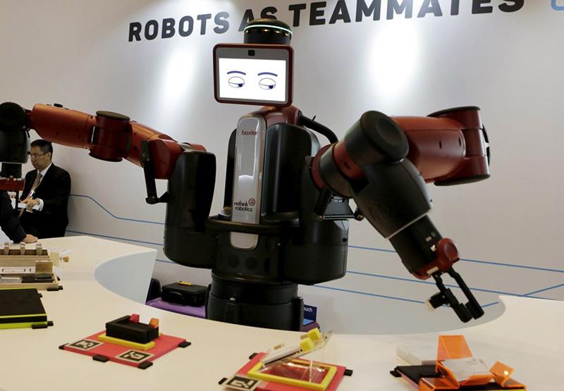 Trí thông minh nhân tạo được cho là sẽ tạo ra sự tăng trưởng lớn cho kinh tế thế giới. Ảnh: QZ