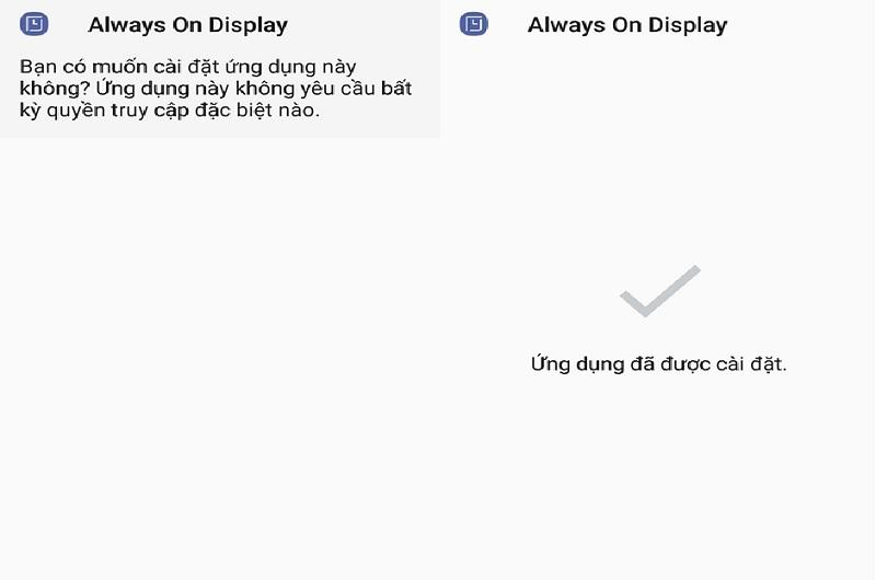 Cách kích hoạt tính năng Always On Display như Galaxy S8 lên các thiết bị Android