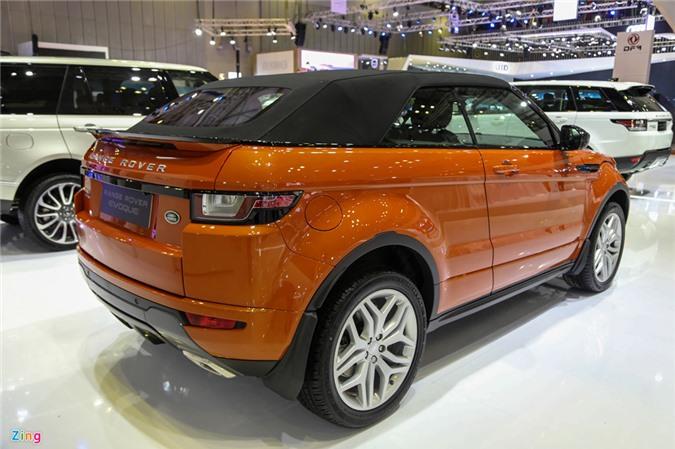 Range Rover Evoque mui tran gia tu 3,5 ty dong tai Viet Nam hinh anh 4