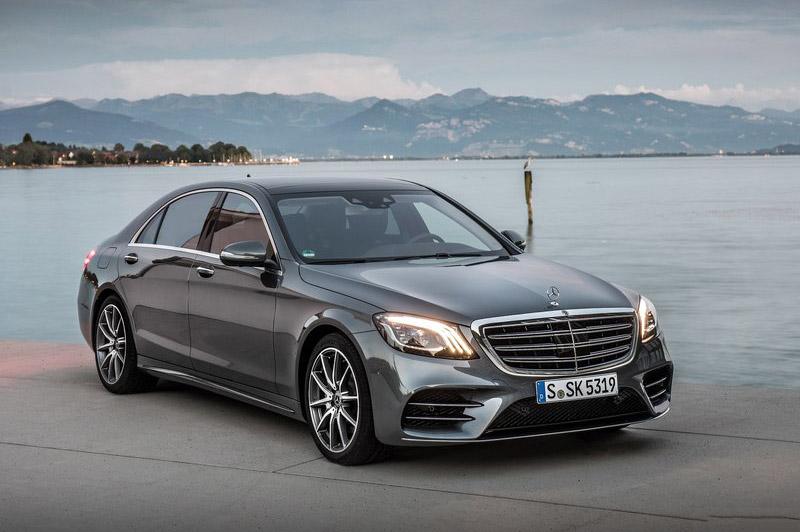 10. Mercedes-Benz S-Class 2018.