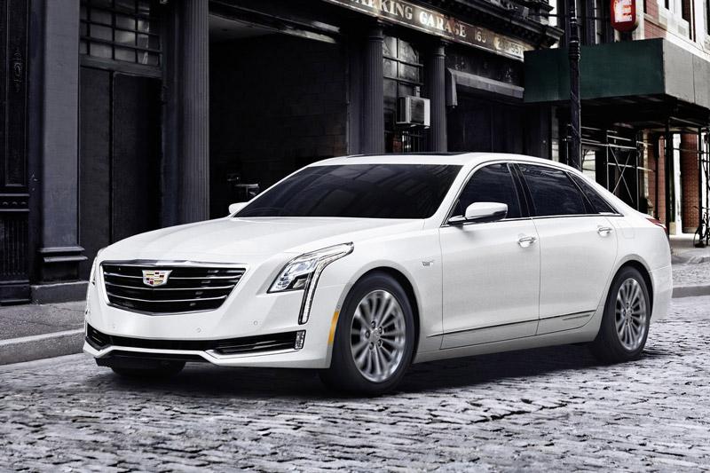 9. Cadillac CT6 2018.