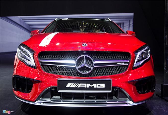 Chi tiet Mercedes GLA 45 AMG gia 2,4 ty vua ra mat tai VN hinh anh 1