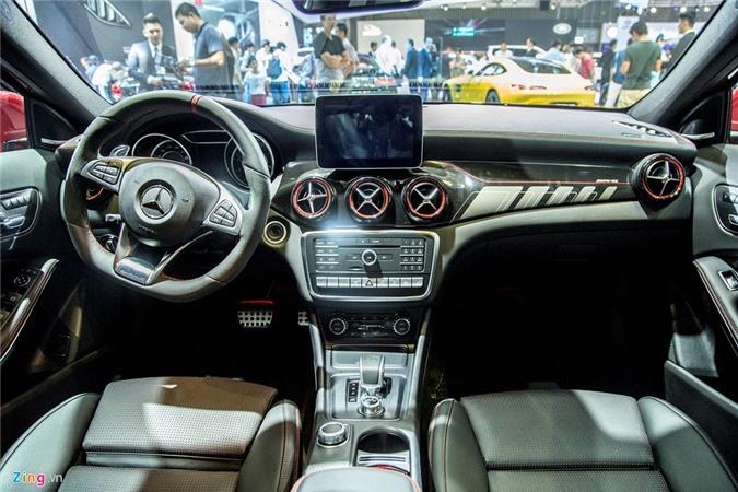 Chi tiet Mercedes GLA 45 AMG gia 2,4 ty vua ra mat tai VN hinh anh 10