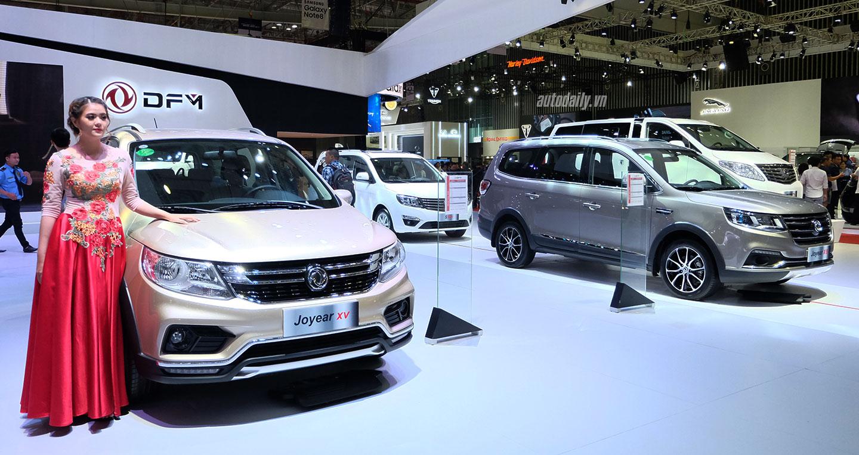 Xe Trung Quốc đẹp 'long lanh' giá 779 triệu tại Việt Nam. Hãng xe Trung Quốc - Đông Phong DFM giới thiệu với khách hàng Việt Nam mẫu xe Joyear X5 hoàn toàn mới với giá bán công bố 779 triệu đồng. (CHI TIẾT)