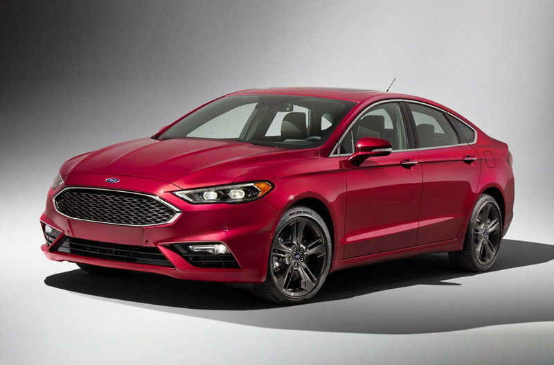 4. Ford Fusion 2018.