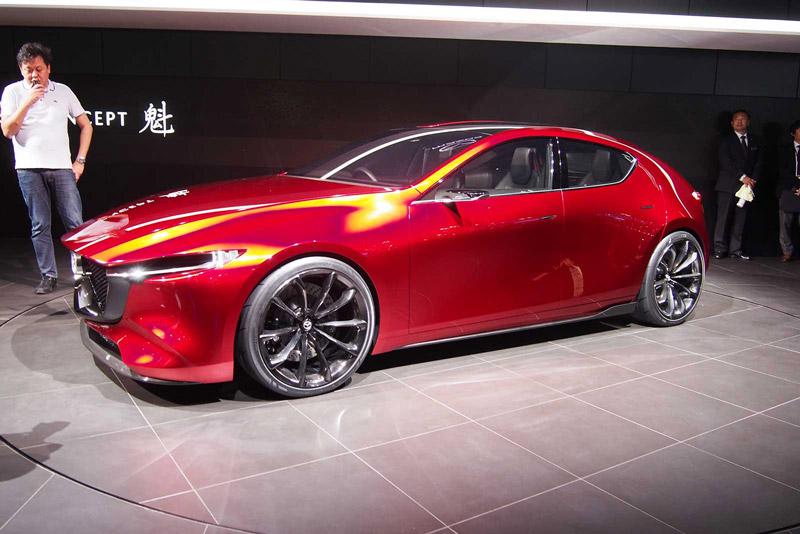 2. Mazda Kai Concept.