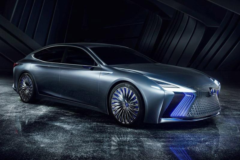 3. Lexus LS Plus Concept.