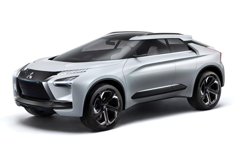 6. Mitsubishi e-Evolution Concept.
