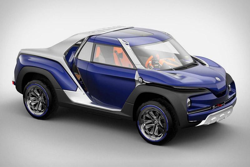 7. Yamaha Cross Hub Concept.
