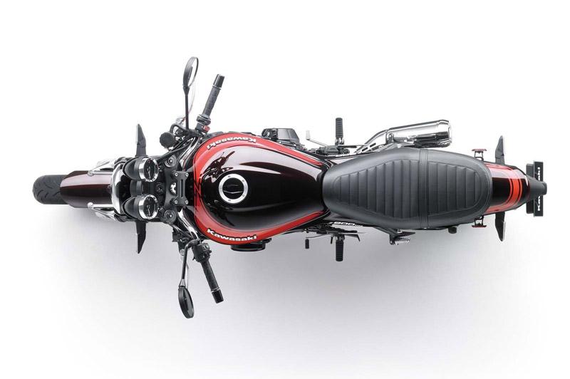 Kawasaki Z900RS 2018 sở hữu kích thước 2.100x865x1.150 mm, khoảng sáng gầm xe 130 mm.
