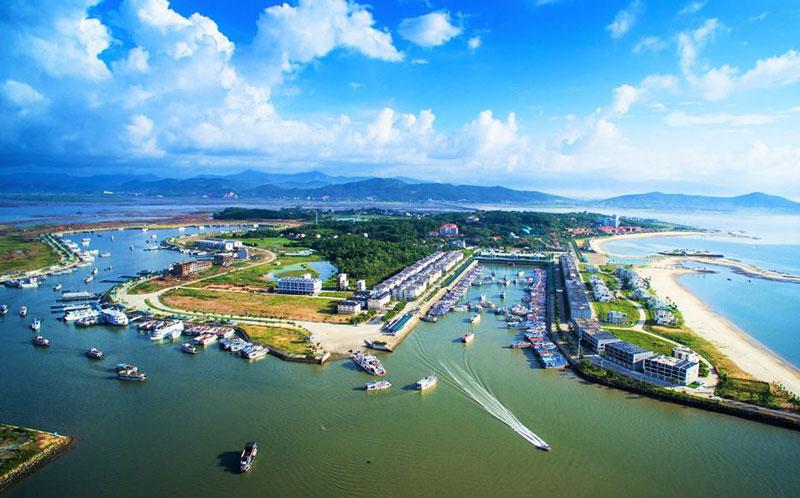 Cảng Tuần Châu do Tập đoàn Tuần Châu đầu tư, vận hành và khai thác. Ảnh: Tuan Chau Habour.