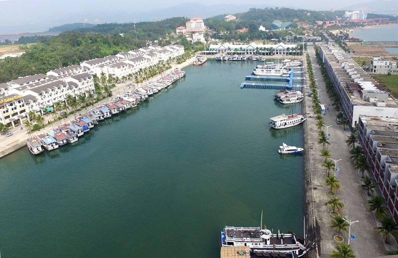Cảng được khánh thành vào ngày 25/9/2015. Ảnh: Đỗ Phương.