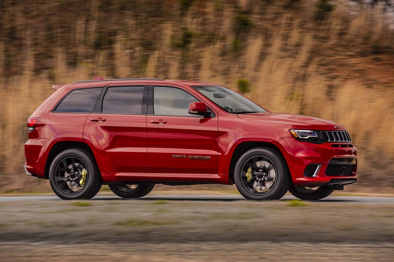 9. Jeep Grand Cherokee Trackhawk 2018.