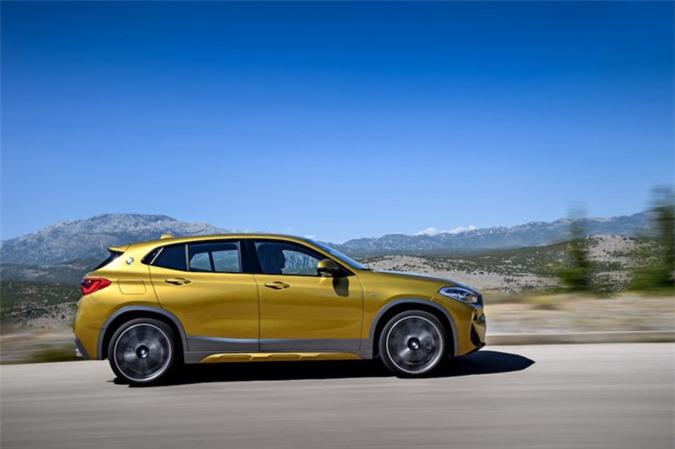 Chính thức ra mắt SUV Coupe BMW X2 hoàn toàn mới ảnh 10