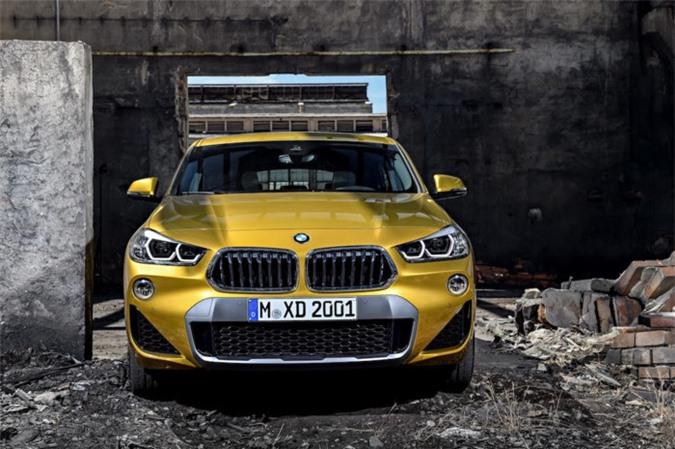 Chính thức ra mắt SUV Coupe BMW X2 hoàn toàn mới ảnh 2