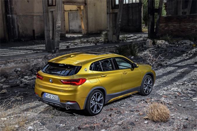 Chính thức ra mắt SUV Coupe BMW X2 hoàn toàn mới ảnh 4