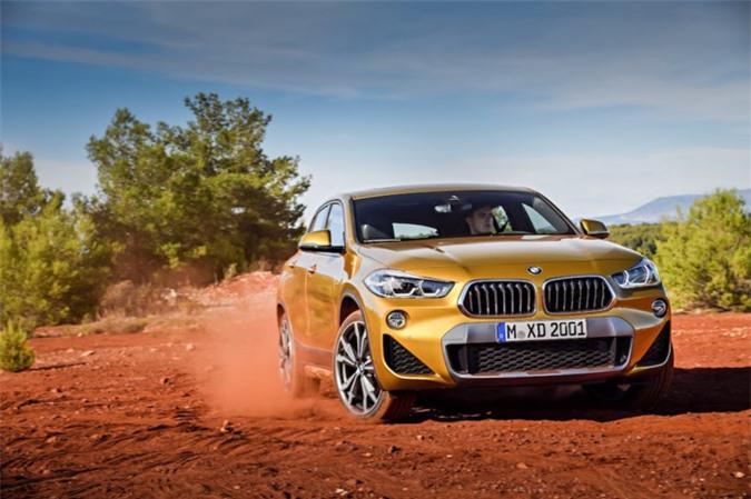 Chính thức ra mắt SUV Coupe BMW X2 hoàn toàn mới ảnh 9