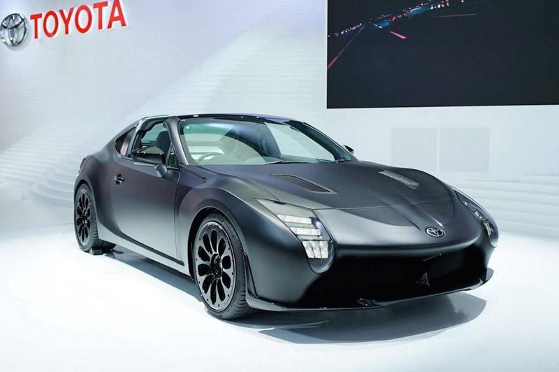 Thiết kế của Toyota GR HV Sports Concept lấy cảm hứng từ mẫu Toyota 86 và Supra.