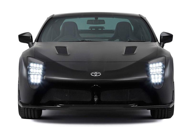 Đèn pha LED được thiết kế theo chiều dọc.