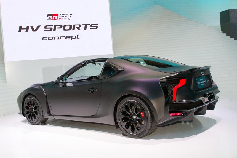 Toyota GR HV Sports Concept sử dụng hệ thống Toyota Hybrid System-Racing (THS-R), được thừa hưởng các công nghệ từ TS050.