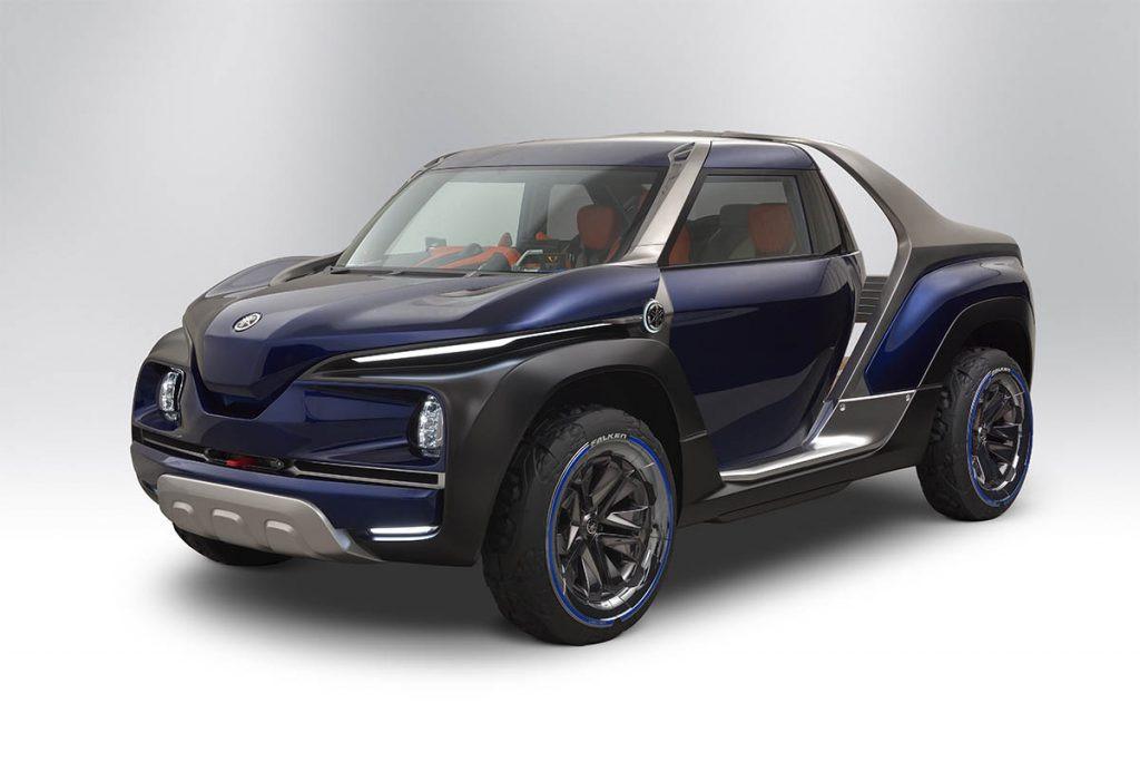 Trong triển lãm Tokyo Motor Show 2017, Yamaha đã mang đến dàn xe concept khá hùng hậu. Mẫu xe bán tải Cross Hub được xem là một nhân tố lạ khi trước đó, Yamaha không hề hé lộ gì về mẫu concept này.