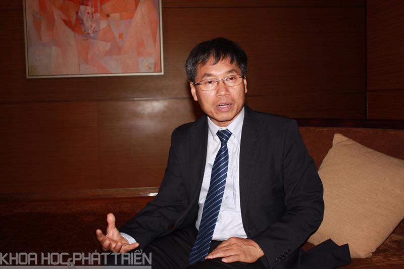 PGS-TS Tạ Cao Minh - ĐH Bách khoa Hà Nội. Ảnh: Loan Lê