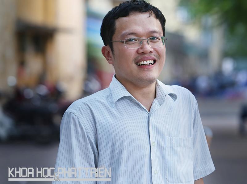 Tiến sỹ Nguyễn Việt Hưng. Ảnh: Loan Lê