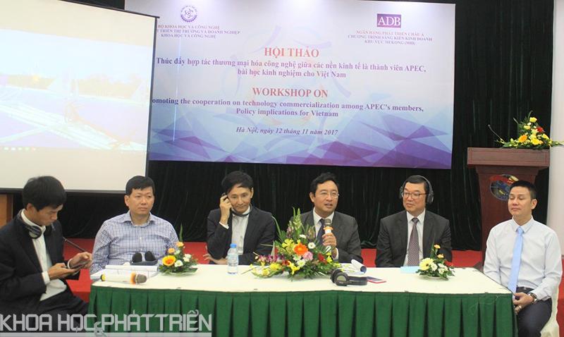 Các chuyên gia chia sẻ về kinh nghiệm của các nước thành viên APEC trong thúc đẩy hợp tác thương mại hóa công nghệ, kết quả R&D và gợi ý bài học cho Việt Nam