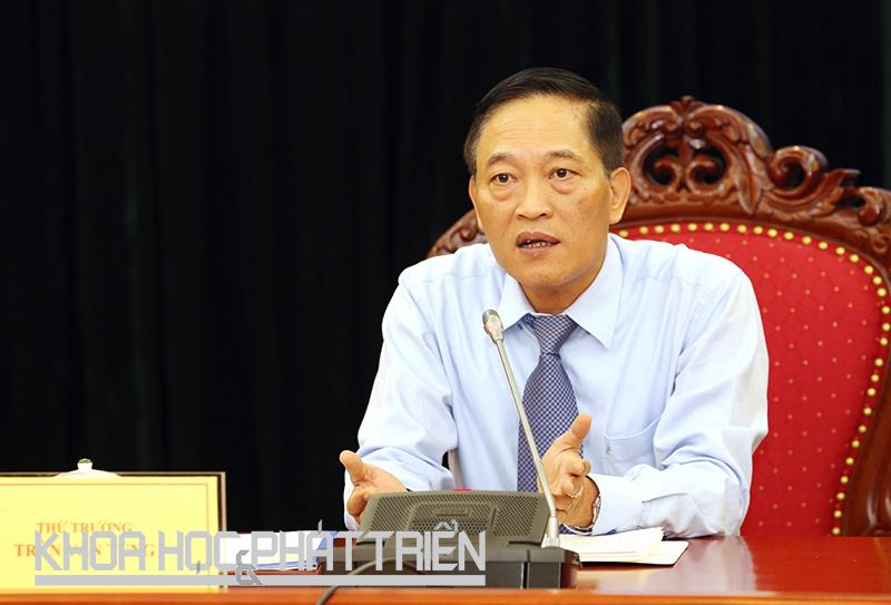 Thứ trưởng Trần Văn Tùng. Ảnh: Bích Ngọc