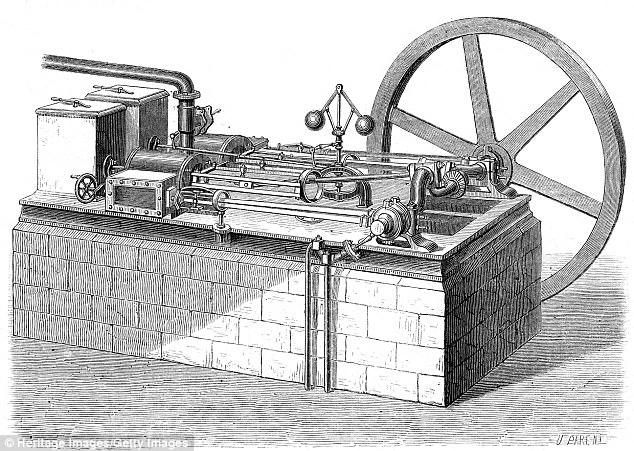 Động cơ String do Mục sư Robert Stirling (1790 – 1878) người Scotland phát minh và nhận bằng sáng chế vào năm 1816. Hiện nay phát minh này vẫn được sử dụng rộng rãi như là thiết bị cung cấp năng lượng hiệu quả ở nhiều ngành công nghiệp khác nhau