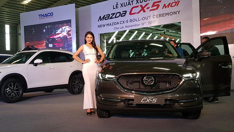 Thaco tung mẫu xe Madza CX5 mới.