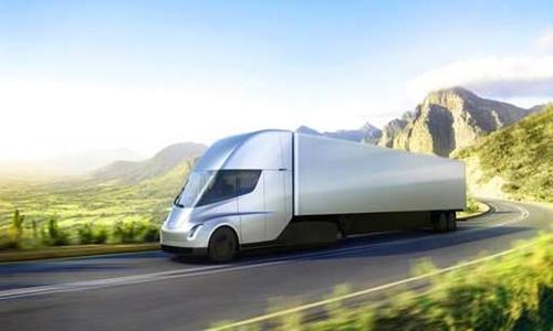Xe tải chạy điện cỡ lớn của Tesla. Ảnh: Tesla.