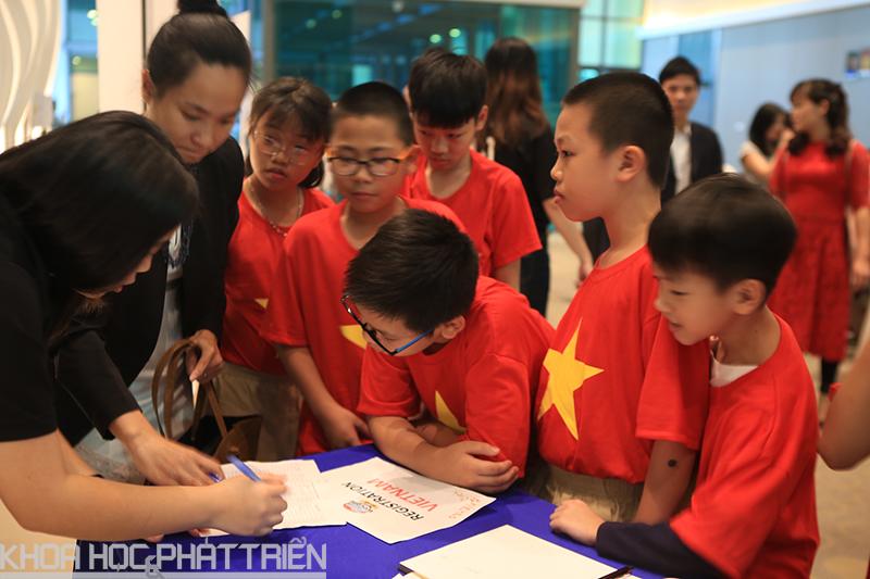 Nhiều bài thi của học sinh Việt Nam được cho là rất sáng tạo.