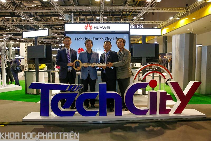 LG U+ và Huawei công bố TechCity tại Seoul