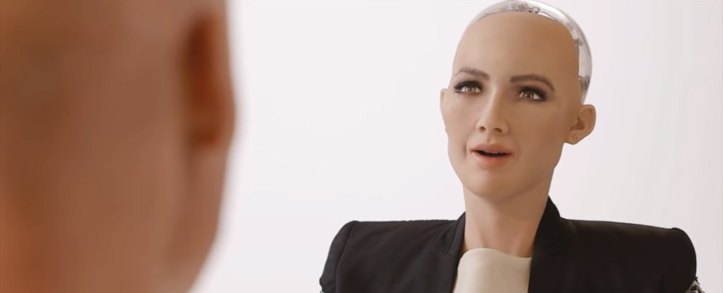Sophia, robot công dân đầu tiên trên thế giới của Ả Rập Saudi. Ảnh Hanson Robotics