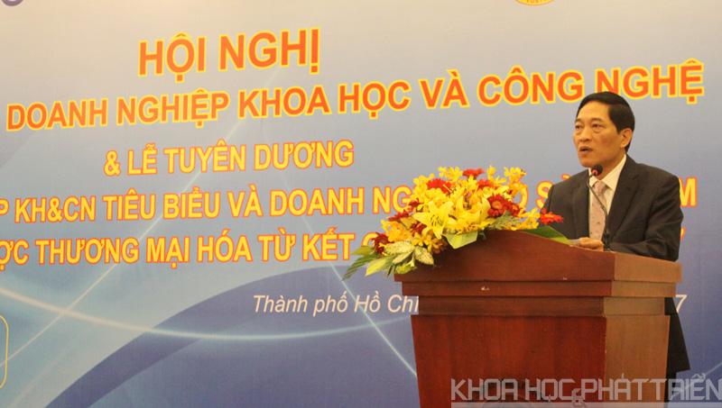Thứ trưởng Bộ KH&CN Trần Văn Tùng