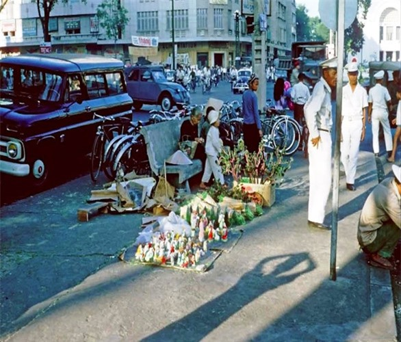 Anh cuc doc ve Giang sinh Sai Gon truoc 1975-Hinh-11