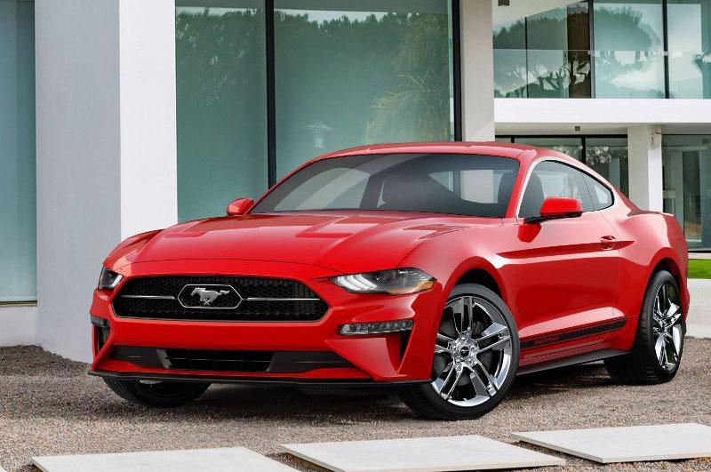 6. Ford Mustang 2018 (giá khởi điểm: 25.585 USD).