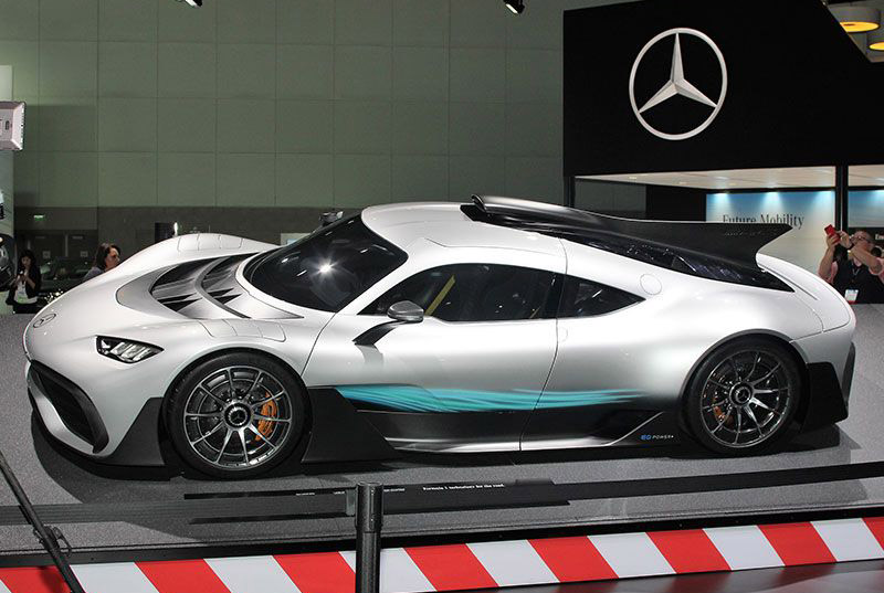 11. Mercedes AMG Project One.