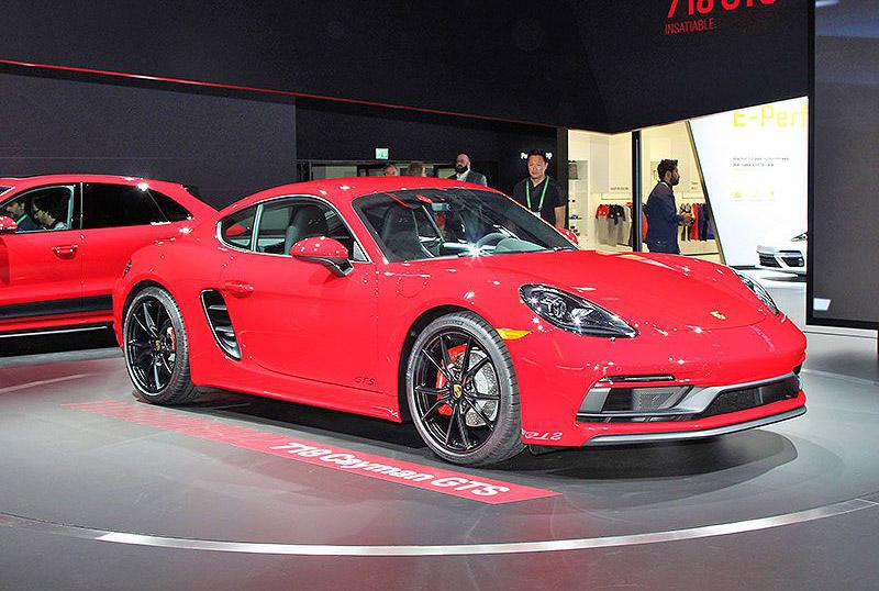 14. Porsche 718 2018.