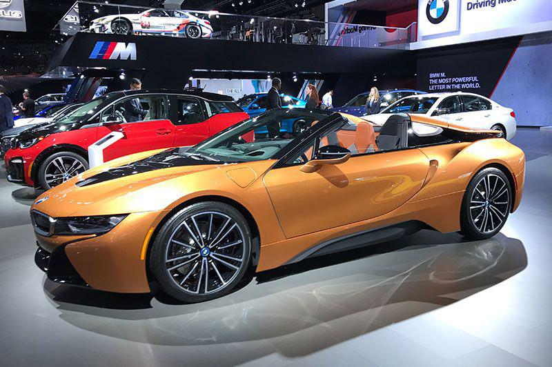3. BMW i8 Roadster 2019.