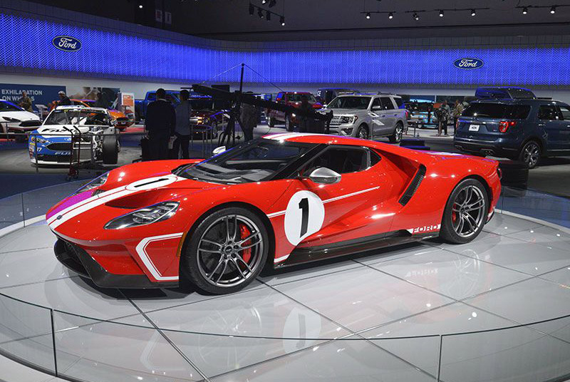 6. Ford GT '67 Heritage Edition 2017.