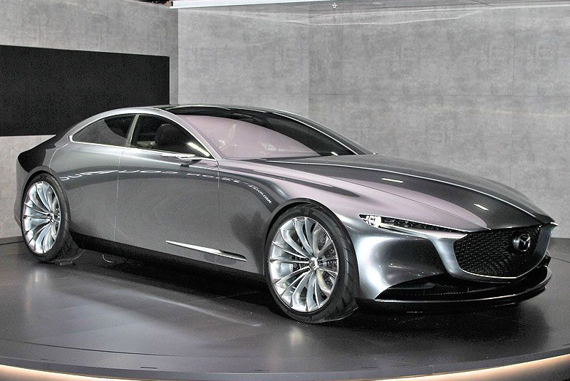 9. Mazda Vision Coupe Concept.