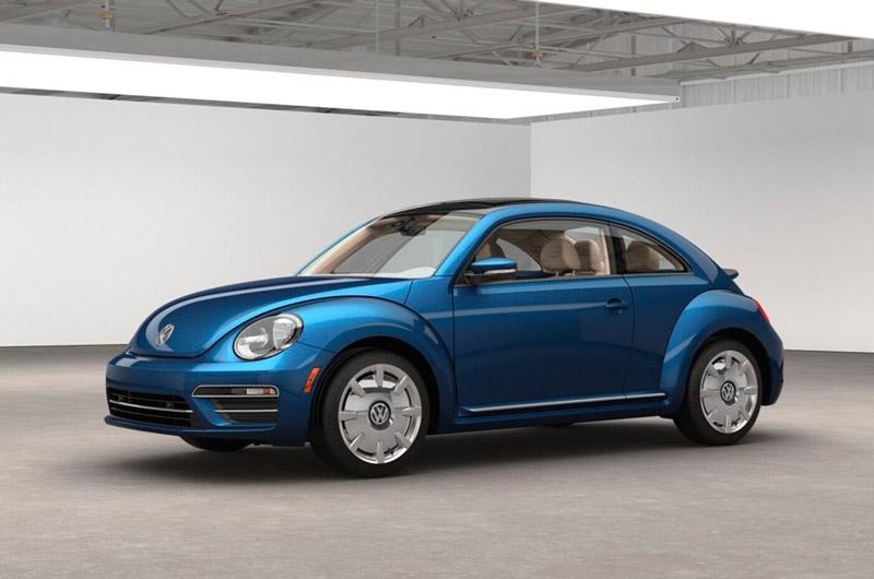 3. Volkswagen Beetle 2017.